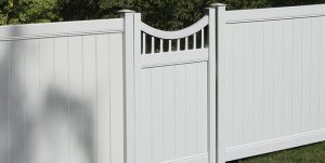 gated privacy fence